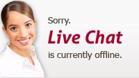 Sorry, Live Chat is currently offline.