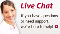 Have Questions? Need Support? Live Chat Now